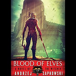Blood of Elves audiobook cover art