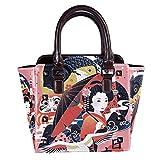 Remaches de cuero de las mujeres de la parte superior de la manija bolsos cruzados bolsos de la moda mochilas para las compras trabajo campus negro Japón nombre país