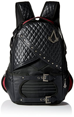 Bioworld Men's Assassins Creed Laptop Backpack, black