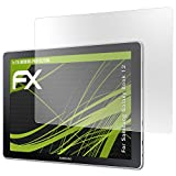 atFolix Bildschirmfolie kompatibel mit Samsung Galaxy Book 12 Spiegelfolie, Spiegeleffekt FX Schutzfolie