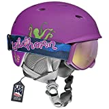 Wildhorn Spire Snow & Ski Helmet w/Goggles for Kids and...