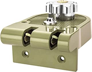 قفل من سبائك الزنك مضاد للسرقة من جيمي ميكانيكي مضاد للسرقة ، لأمن المنزل مضاد للسرقة (مفتوح لليسار)