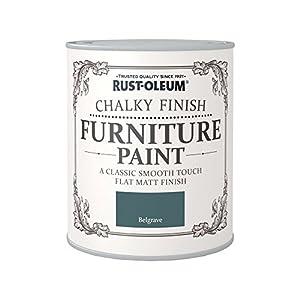 Rust-Oleum RO0070014X1 – Pintura De Chalky Finalizar Muebles – Antracita – 125Ml