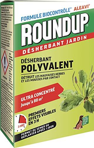 avis desherbant total 5 professionnel Herbicide rapide concentré Roundup, 200 ml