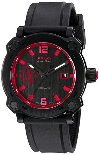 Bulova Men's Percheron Stainless Steel Swiss-Automatic Watch...