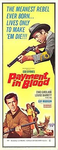 Payment In Popular 5 ☆ very popular overseas Blood - Authentic 14x36 Original Insert Movie