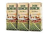 Vino Don Simon - Brik Blanco 187 ML, Paquete de 3