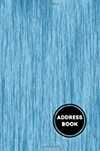 Address Book: Tabbed in Alphabetical Order, Perfect for Keeping Track of Addresses, Email, Mobile, Work & Home Phone Numbe...