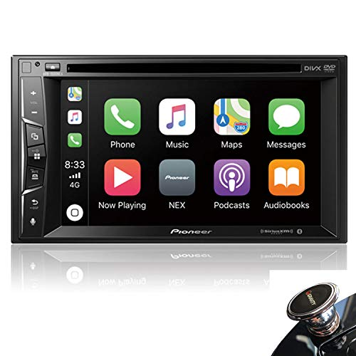"Price comparison product image Pioneer AVH-1500NEX Multimedia DVD Receiver with 6.2"" WVGA Display with Apple CarPlay,  Bluetooth,  and SiriusXM-Ready + Magnet"