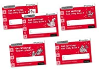 Read Write Inc. Phonics: Get Writing! Red Ditty Books 1-5 Mixed Pack of 5