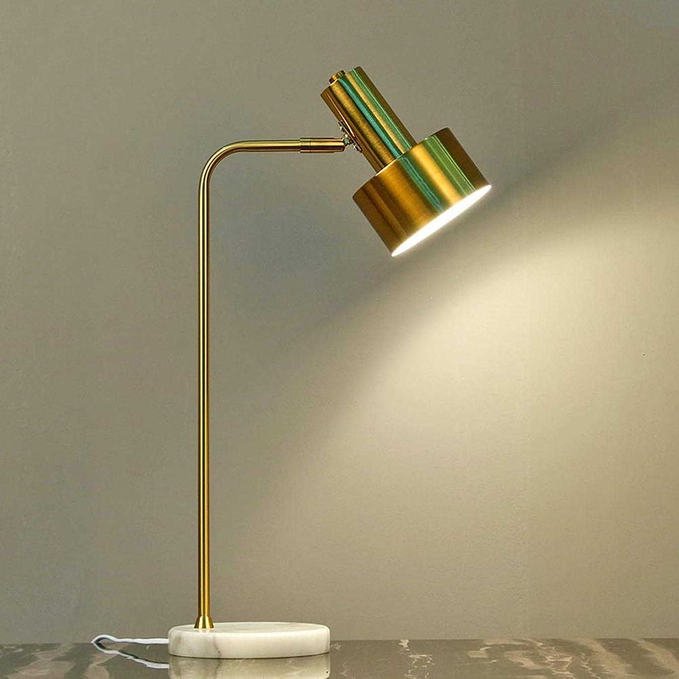 イタリアの性別手つかずの読書ランプの寝室のテーブルランプアメリカの回転ベッドサイドライト調節可能なスイッチ暖かいクリエイティブ北欧インウィンドアイアン照明シンプルモダンデスク照明家のカウンターランプ可動ランプ