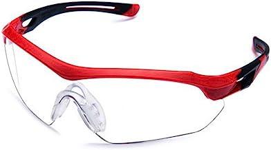 Óculos Proteção ESPORTIVO STEELFLEX FLORENCE VERMLEHO INCOLOR Esportivo AIRSOFT Teste Balístico Paintball Resistente A Imp...