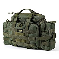 SHANGRI-LA Tactical Assault Gear Sling Pack Range Bag Hiking Fanny Pack Waist Bag Shoulder Backpack