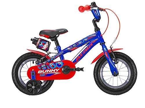 Atala Bicicletta da Bambino Bunny Boy Modello 2019, Colore Blu - Rosso, 1 velocità