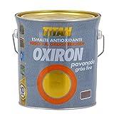 OXIRON - Esmalte Pavonado Oxiron 4 L 0202 Gris Ac