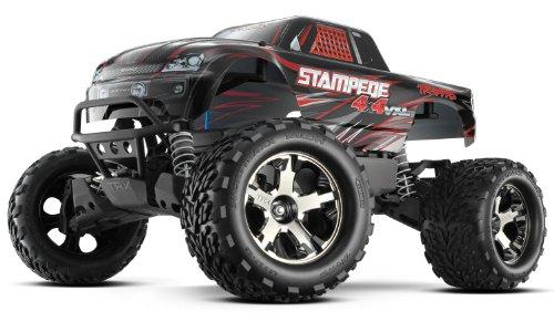 Traxxas 67086-4 Stampede 4x4 BRUSHLESS Monster Truck VXL TSM 2,4GHz schwarz