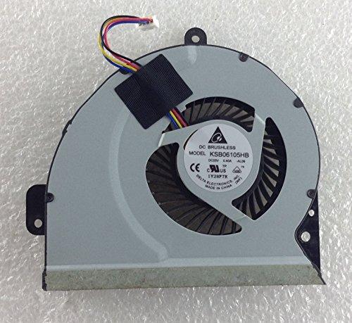 ASUS A53S K53SD SX199V Procesador disipador de Calor para CPU KSB06105HB