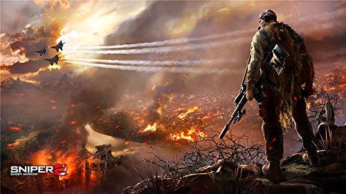 Sniper Ghost Warrior 2 Puzzle 500 Piezas De Rompecabezas Creativo Desafío Intelectual, Juegos para Adultos, Niños, Adolescentes,Decoración del Hogar, 52Cm X 38Cm