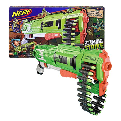 Product Image of the Nerf Zombie Ripchain Combat Blaster
