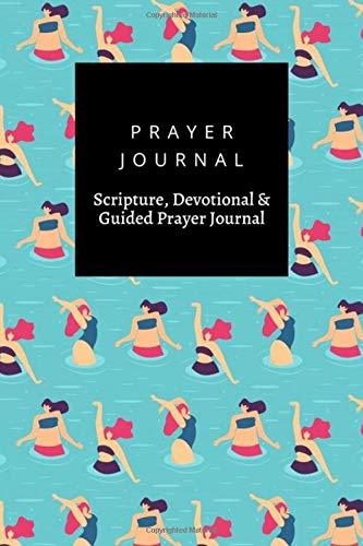 Prayer Journal, Scripture, Devotional & Guided Prayer Journal: Active Woman Pool Party design, Prayer Journal Gift, 6x9, Soft Cover, Matte Finish