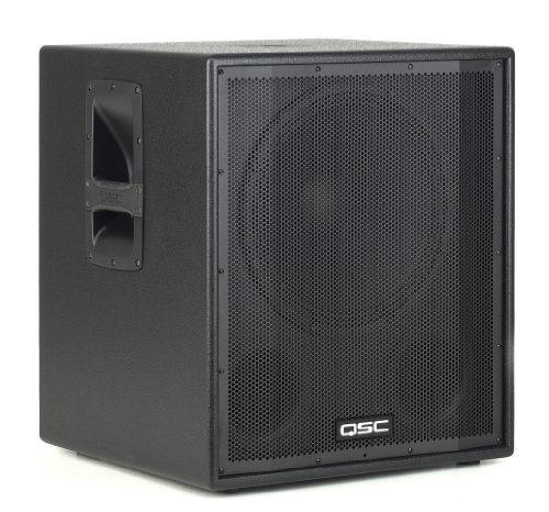 Active subwoofers QSC HPR151i (2 pcs. + Covers) ONE PAIR