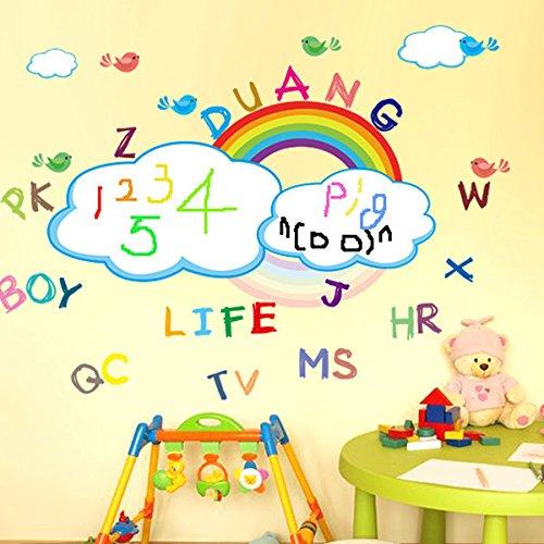 Bazaar Decoratieboog voor de kinderkamer, bedrukbare muursticker, boog, wasbaar, wandtattoo, whiteboard