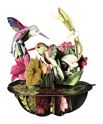 Santoro Pirouettes PS047 Hummingbirds 3D Pop up Card
