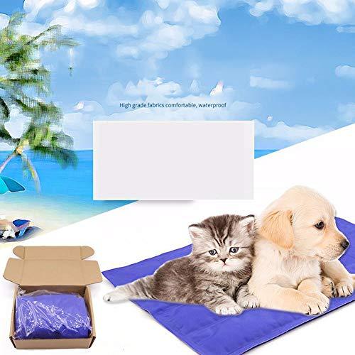 zyy La Almohadilla De Enfriamiento De Enfriamiento Estera Perros Gatos Mascotas para Mascotas Perros Y Gatos Auto-Refrigeración En Verano No Es Tóxico,XXL