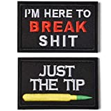 Just The Tip & IM here to break shit Tactical Military Morale Patch