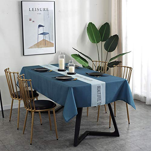 CYYyang Table Cover, Plastic Table Cloth, Tablecloth for Party, Birthday, Wedding Polyester digital printing waterproof geometric triangle