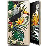 Ultra-Slim Case for Wiko Jerry 2 Tropical Toucan Design