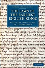 the laws of the earliest english kings