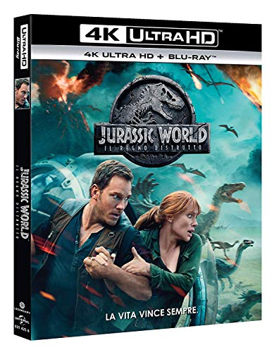 Jurassic World: Il Regno Distrutto 4K Ultra HD+Blu-Ray [Import]