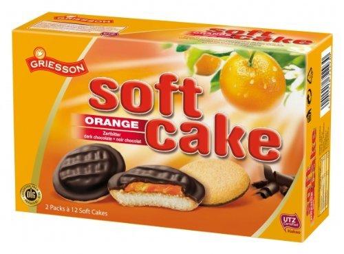 Griesson Soft Cake Orange Menge:300g
