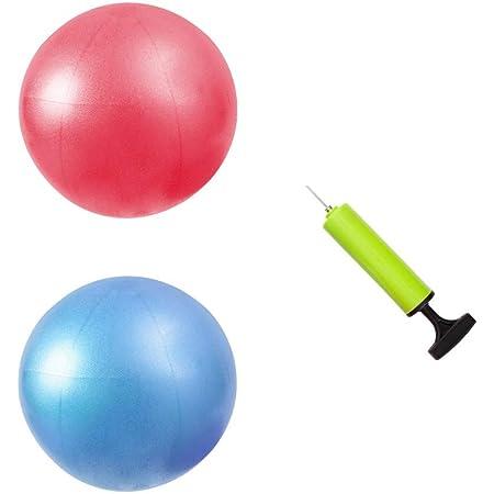 2Pcs Exercise Ball Anti-Burst Slip Resistant for Fitness Stability Balance