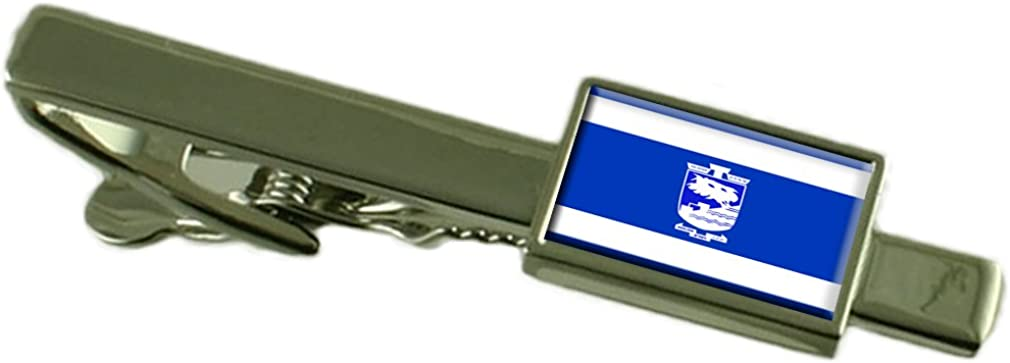 Select Gifts Holon City Israel Flag Tie Clip