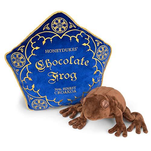 The Noble CollectionSchokoladenfrosch-Plüsch und Kissen