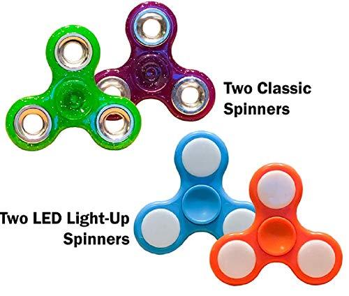 Rystinworks Fidget Spinners (4 Spinners)