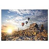 qingqingR 1000 Piezas Rompecabezas Serie de paisajes Ensamblar Rompecabezas para Adultos Regalo de Bricolaje