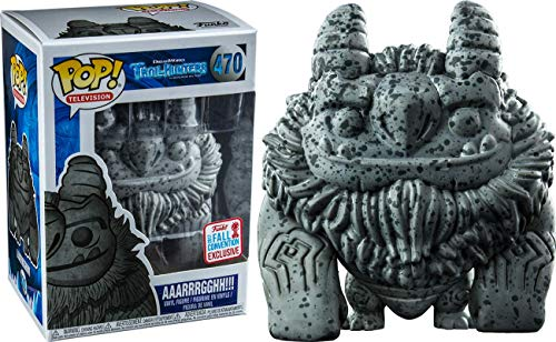 TROLLHUNTERS - STONE AAARRRGGHH!!! 2017 Fall Convention Exclusive #470 POP TELEVISION: NYCC