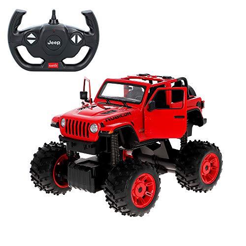 Rastar Coche teledirigido 1:14 Jeep Wrangler JL Big Foot (46358)
