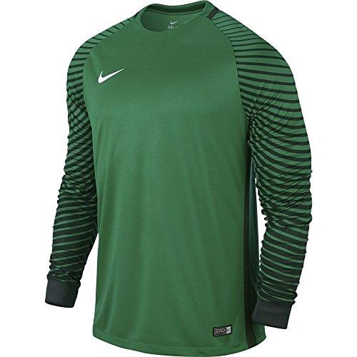 Nike Herren Gardien Goalkeeper LS Jersey Torwarttrikot, Lucid Green/Grove Green/White, S