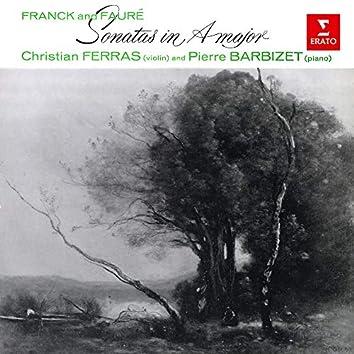 Franck & Fauré: Violin Sonatas in A Major