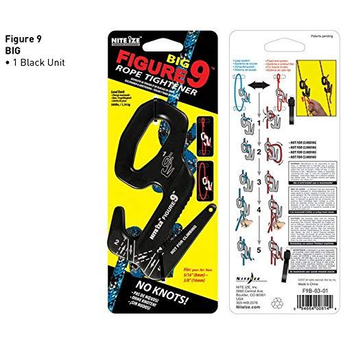 tragbarer Leichter Seilspanner f/ür den Au/ßenbereich Kunststoff Kabelspanner mit Karabinerhaken Urben Life Kabelspanner f/ür Seile 2MM-5MM Durchmesser