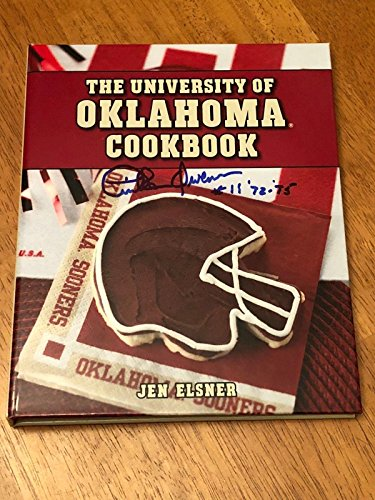 Tinker Owens OU Oklahoma Sooners 2x National Champ Signed Autograph Cook Book - College Autographed Miscellaneous Items