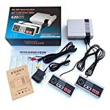 Panghuhu88 Classic Mini Retro Game Console with Mini Console Built-in 620 Classic Games Dual Gamepad Gaming Player Handheld Games RCA or HDMI Christmas Stuffer (620RCA)