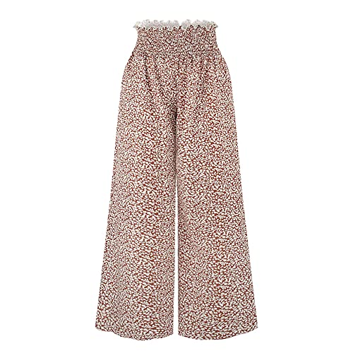 ImpresióN Digital Moda Pantalones Anchos Pantalones Sueltos Pantalones Rectos Pantalones Casuales