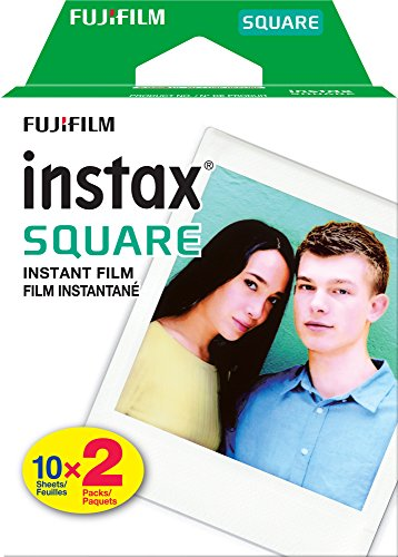 Fujifilm Instax Square Twin Pack Film - 20 Exposures