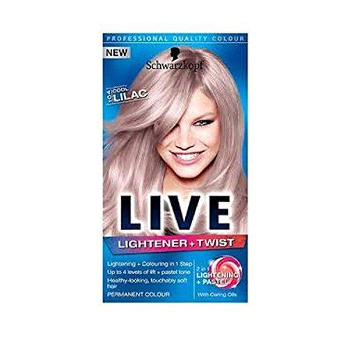 Schwarzkopf Live Lightener+Twist 104 Cool Lilac by Schwarzkopf