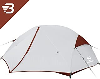 Bessport Backpacking Tents 2 Person, Easy & Quick Setup Lightweight Camping Tent - Waterproof, Two Doors for 3-4 Season Families, Expeditions, Outdoor, Hiking